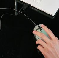 надувная компьютерная мышка