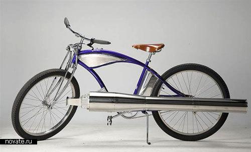Велосипед на реактивном двигателе