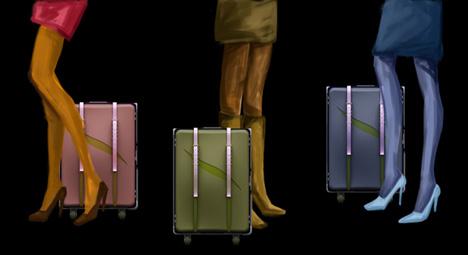 чемодан для женщин Jibo
