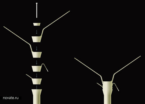 Вешалки «Rotor» от Kai Richter