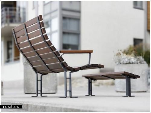 Новые лавочки для парков и общественных мест