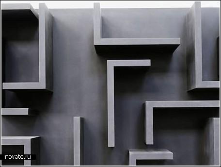 Полка-лабиринт «Kaos»