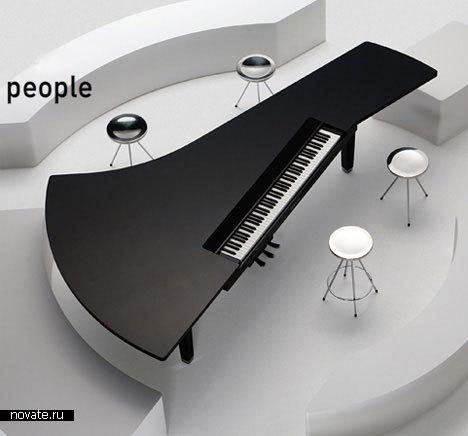 Концепт рояля от Yamaha