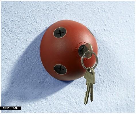 Вешалка-гриб для ключей
