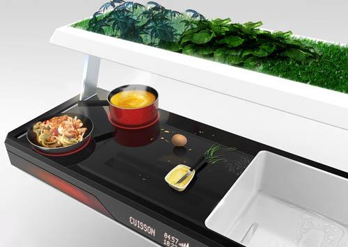 кухня будущего от Antoine Lebrun