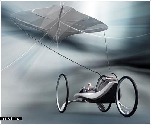 Почти летающая колесница