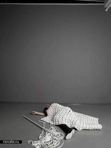 «Гигантское» вязание
