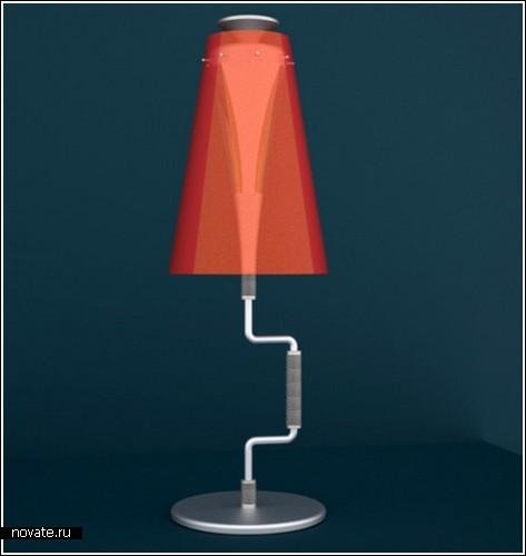 «Зеленая» лампа «KRANK»
