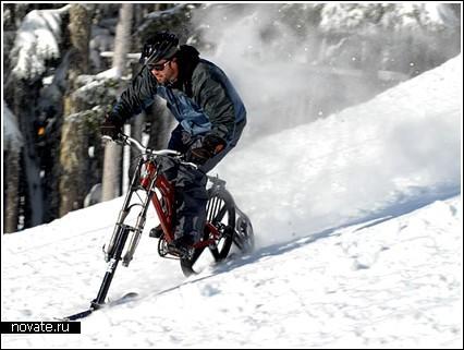 Зимний велосипед «Ktrak»