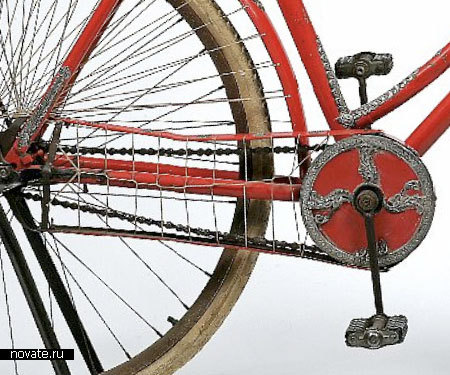 Велосипед «Silver Mounted lady's bicycle»