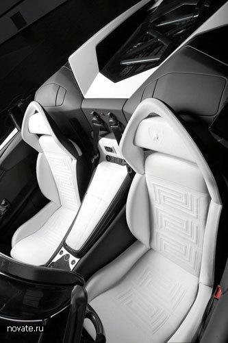 Автомобиль от Lamborghini и Versace