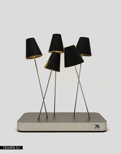 Лампа «Lampost» от Jaren Goh