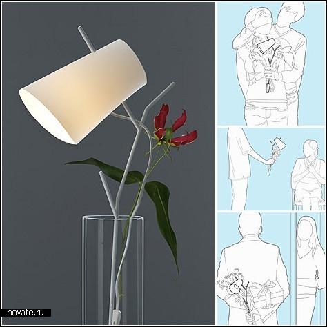 И лампа, и ваза