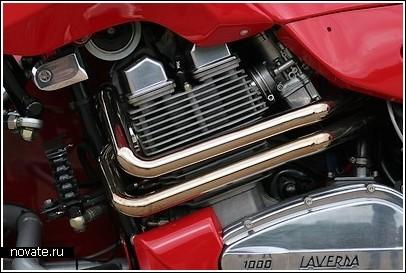 Гибрид автомобиля и мотоцикла по имени «Laverda»