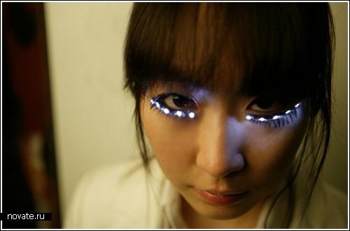 Ресницы-светлячки от японцев