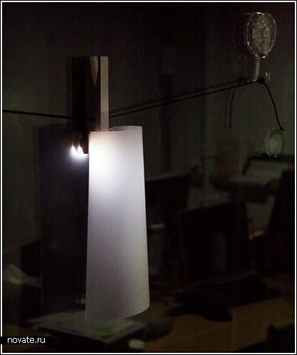 Лампа-прищепка от Sungho Lee