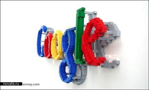 Инсталляции из конструктора Лего