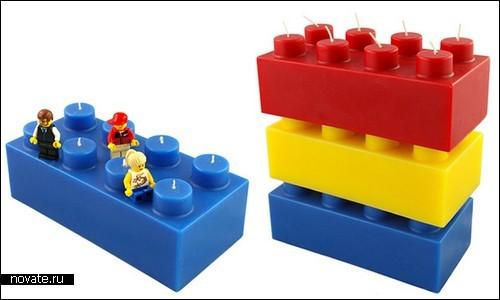 Свечки-кубики