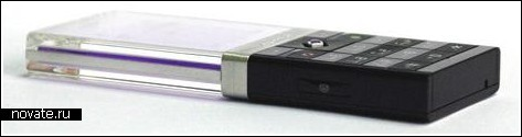 «Ядовитый» телефон с прозрачным дисплеем