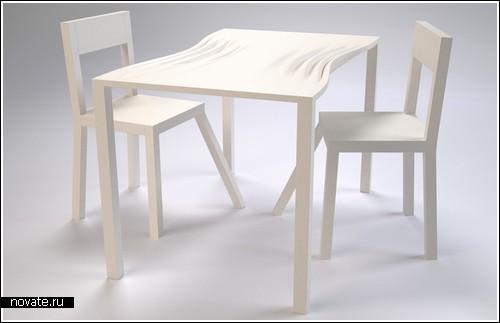«Сжатый» стол