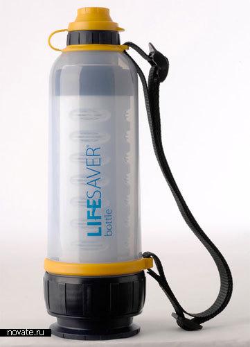Бутылка-фильтр «Спаситель»