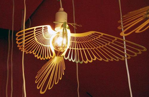 Лампа жар птица от chen karlsson