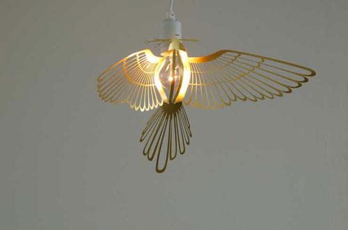 Лампа «Жар-птица» от Chen & Karlsson
