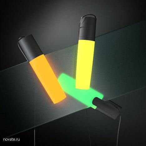Маркер-светильник-прищепка от Александра Ляпунова