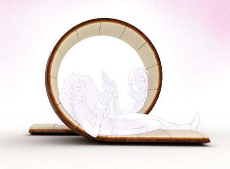 диван «Loopita» от Victor Aleman