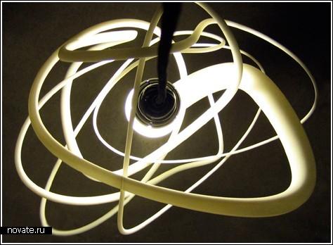 Запутанная лампа