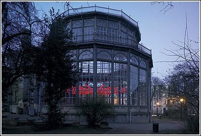 Парящие лотосы – инсталляция в Брюсселе