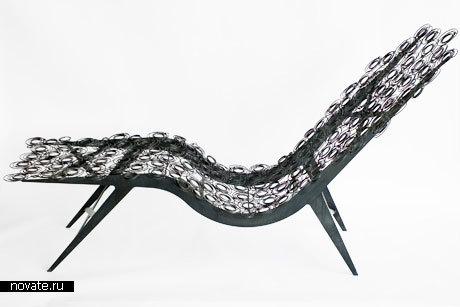 Кресло Spring Screen Lounge Chair от Susan Woods