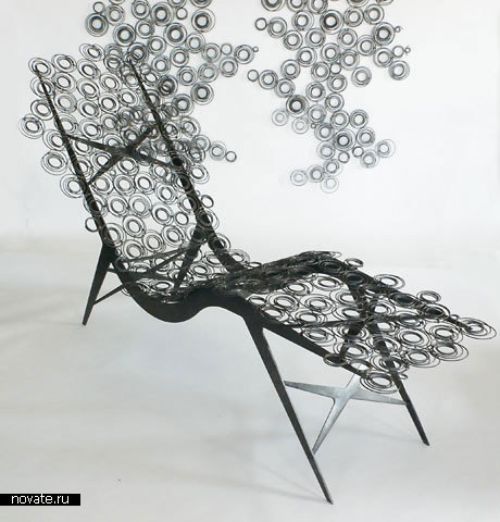 Кресло Spring Screen Lounge Chair от Susan Woods