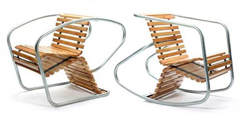 кресло-качалка от Luis Porem