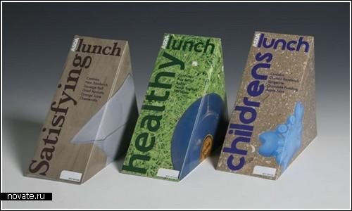 Коробки для еды вместо контейнеров