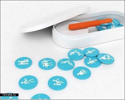 Часы-магниты для холодильника