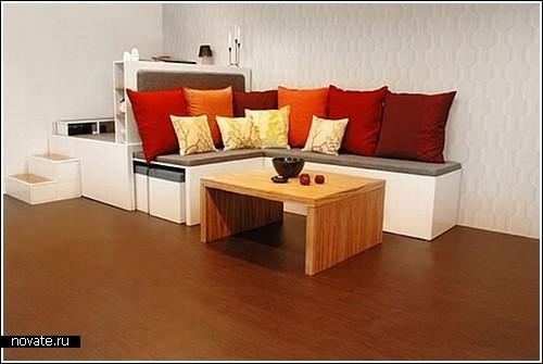 Мебель «Матрешка» на четырех м²
