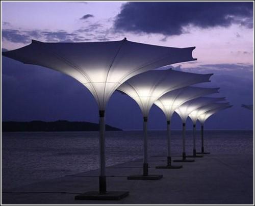 Пляжные зонты-тюльпаны из Германии