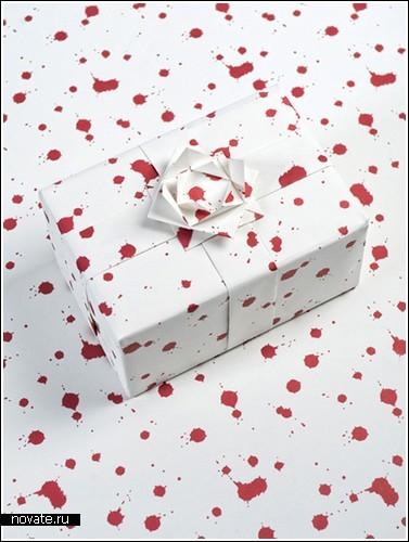 Бумага для подарков фото