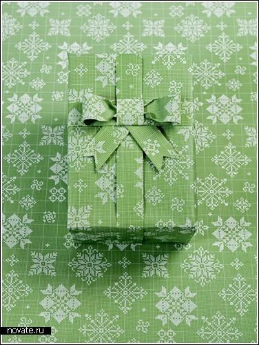 Оберточная бумага для подарков