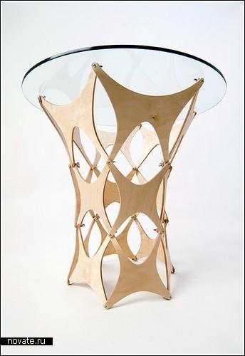 Мебель из фанеры и стекла