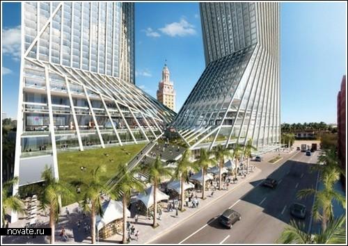 Супер здание для колледжа в Майами