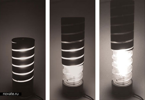 Спиральная лампа «Mid-light» от Schotton Duncan
