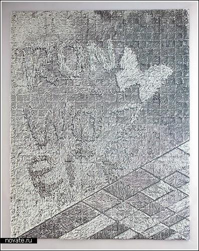Странный арт-проект от Giles Miller
