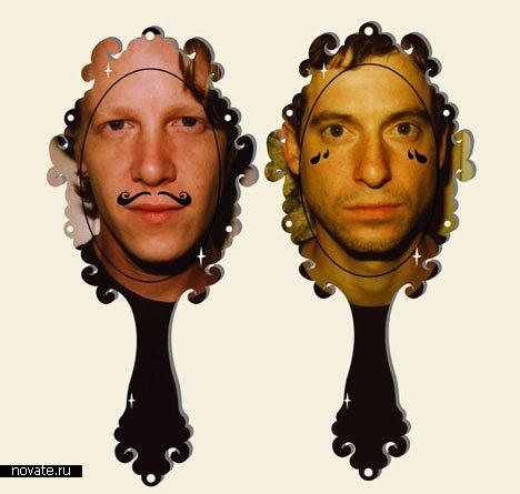Смешные зеркала от Julie Ruiz