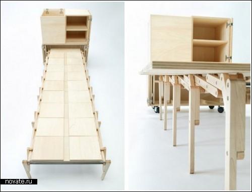 Стол «Мобильный обед» от Nobuhiro Teshima