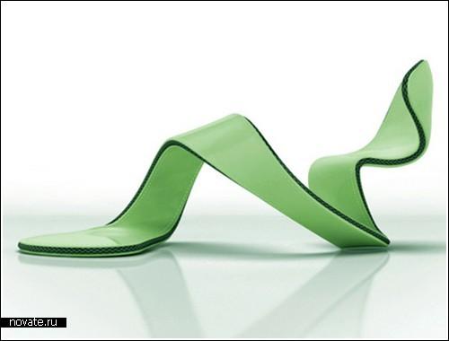 Обувь без подошвы от Julian Hakes