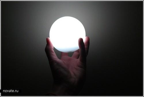 Атомы, молекулы и…лампы