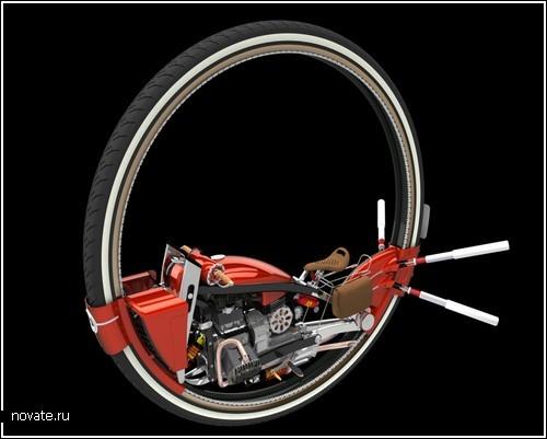 Моноцикл – одноколесный байк
