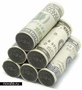 Поленья для камина в виде денег